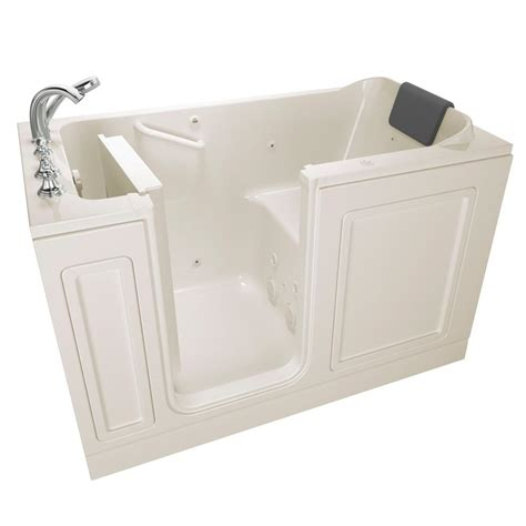 home depot walk in bathtub american standard acrylic luxury series 4 ft walk in