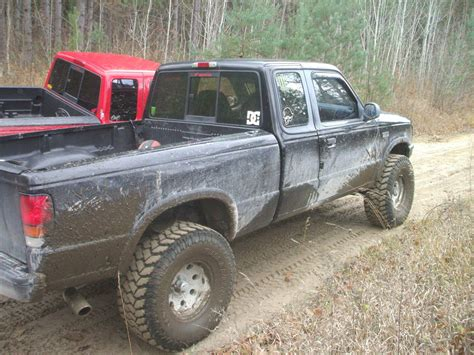 mazda b4000 lifted photos of lifted rbv s with different lift tire sizes