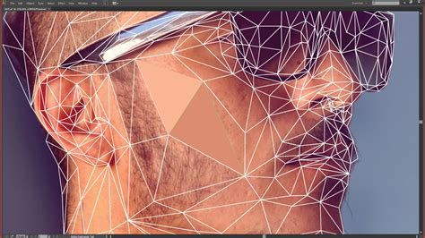 tutorial photoshop illustrator create a low poly portrait digital arts