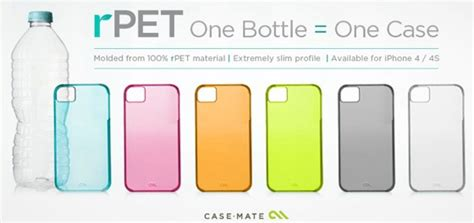 Ipod Cases Made From Recycled 45s by Mate Offers Iphone Cases Made From Recycled Plastic