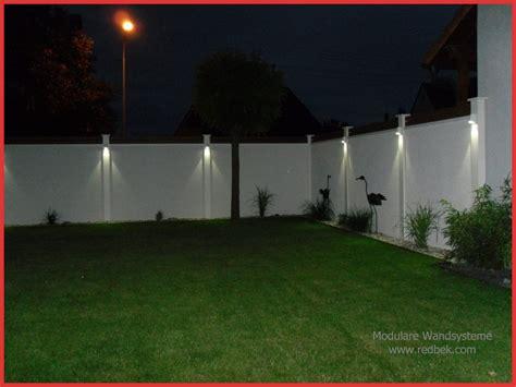 Beleuchtung Mauer Garten by Beleuchtung Mauer Garten Wohn Design