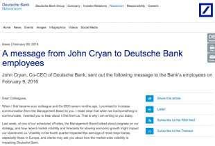 Kosten Letter Of Credit Deutsche Bank La Lehman Brothers D Europa Sar 192 Deutsche Bank Mentre Le Borse Crollano Ancora 2 9