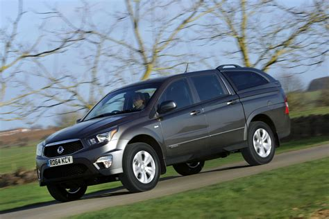 ssangyong korando sports ssangyong q200 pick up to replace korando sports in 2018