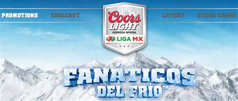 Coors Light Sweepstakes - coors light fanaticos delfrio sweepstakes 554 prizes t shirts footballs prize