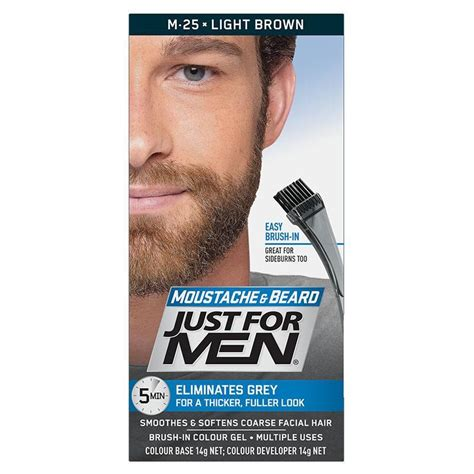 Buy Just For Beard Colour Light Brown At