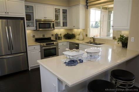 peninsula kitchen ideas pictures of kitchens traditional white kitchen cabinets