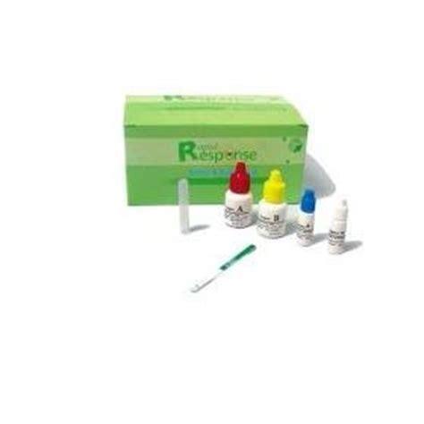 Eleotin Detox by Rapid Response Strep A Test Kit Str 15s25 Rr 25 Strips Box