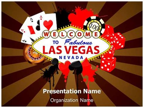 free vegas templates las vegas casino powerpoint template background