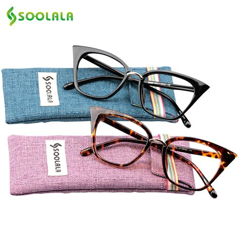 soolala cat eye reading glasses oversized