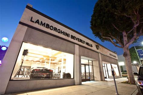 7 Lamborghinis In The Hollywood Hills by Lamborghini Event Custom Made Productions Beverly