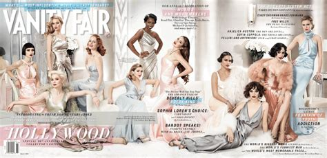 Vanity Fair Magazine Covers by Vanity Fair Magazine 2012 Cover Photo And