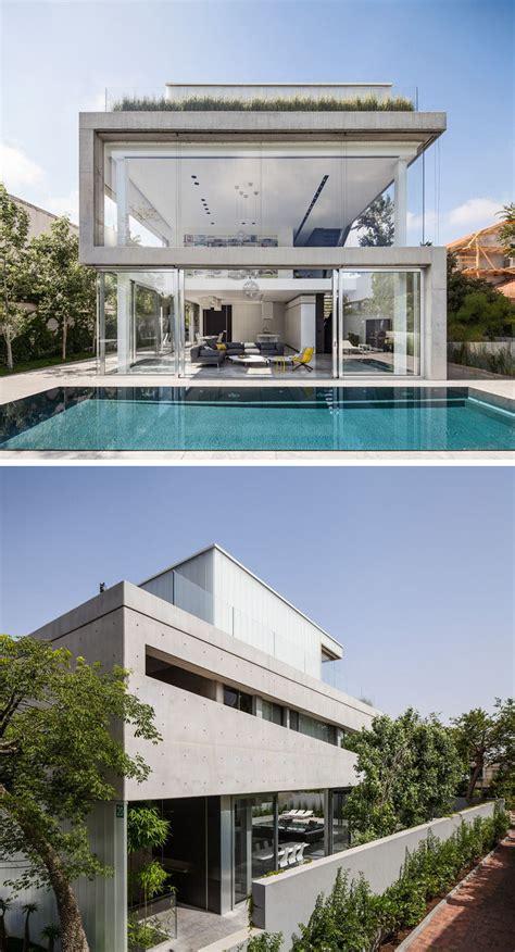 modern house exteriors   concrete contemporist