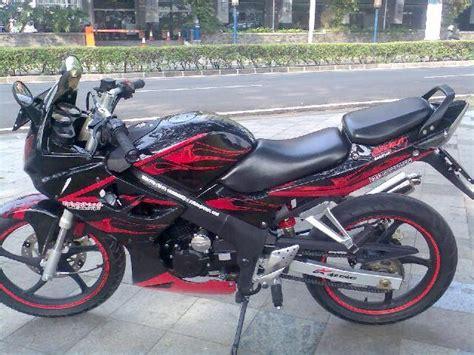 Minerva Cbr 150 modifikasi minerva gtr 150 r 2009 review