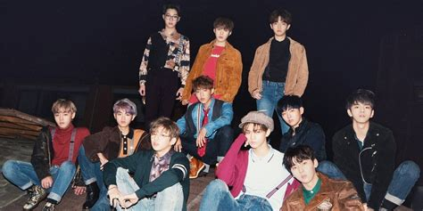 wanna one wanna one embraces autumn for 1 1 0 nothing without you