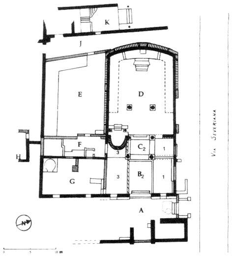 Synagogue Floor Plan by Regio Iv Insula Xvii Synagoga Iv Xvii 1