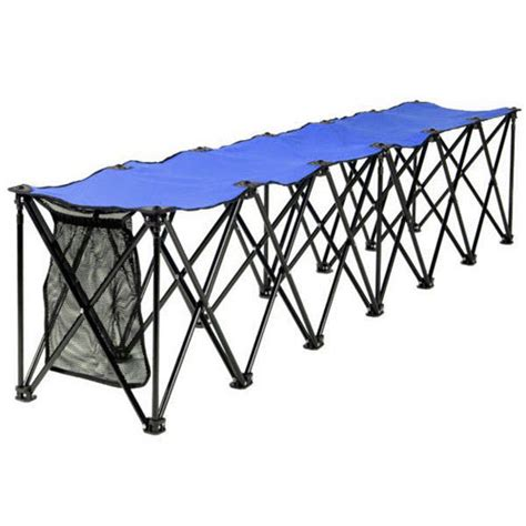 sideline bench six seat folding sideline bench bleachers and benches
