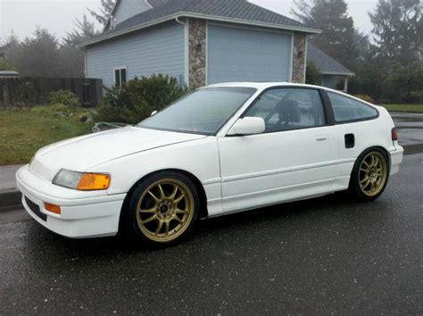 honda rear wheel drive ca rear wheel drive turbo crx chion white for sale