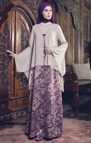 Gamis Muslim Laras Dress Linen Fashionable 52 Best Gamis Batik Images On Styles
