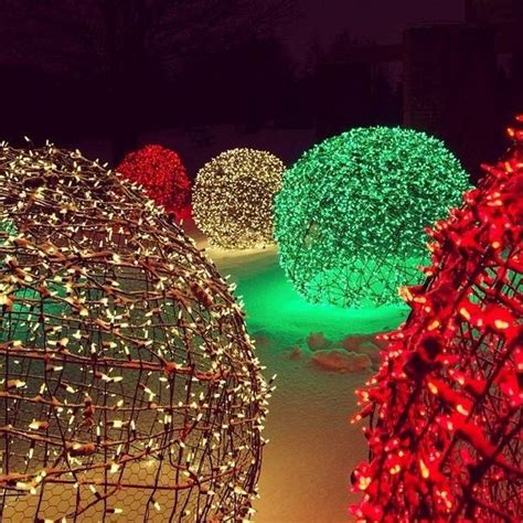 christmas decorative light balls make your own christmas light balls diy projects for
