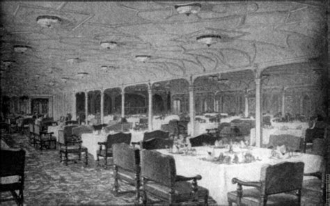 dining on the titanic frontispiece 2 grand dining saloon s s titanic