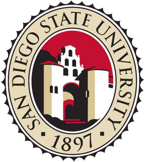 sdsu colors san diego state logo clipart picture gif jpg