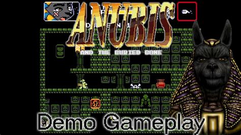 The Buried anubis and the buried bone demo gameplay