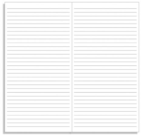 printable landscape lined paper free a4 print lined paper a4