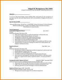 nursing resume exles for medical surgical unit in a hospital 5 rn resume med surg sle inventory count sheet