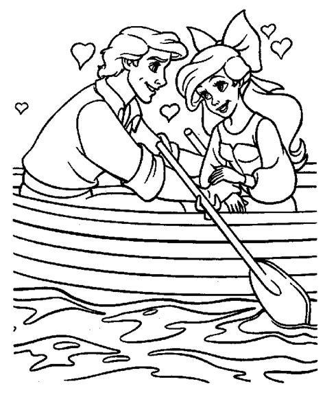 little mermaid coloring page printable the little mermaid coloring pages coloringpages1001 com