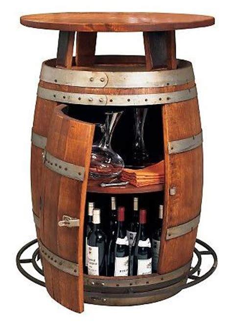wine barrel bar table vintage oak wine barrel turned home bar adds a touch of