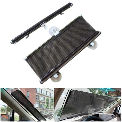 car windshield shade auto car curtain front window sunshade windshield sun shade cover protector roll 58 215 125cm
