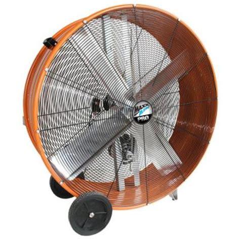 home depot barrel fan maxxair 42 in industrial heavy duty 2 speed belt drive