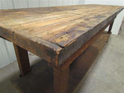 heavy duty wood table odjo choice butcher block wood workbench