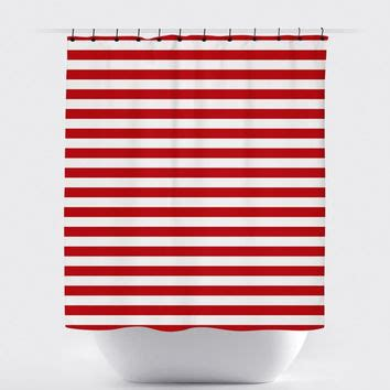 red striped shower curtain best red striped shower curtain products on wanelo