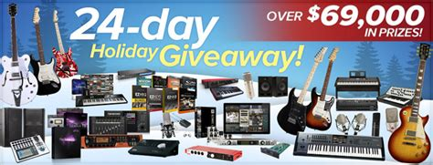 Sweetwater Sweepstakes - sweetwater s 24 day holiday giveaway guitarsite