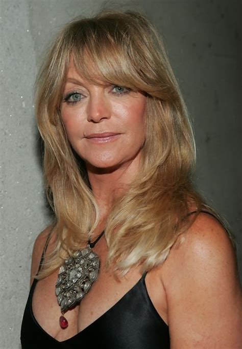 wispy bangs over 50 goldie hawn s golden tresses helen hunt warm and actresses