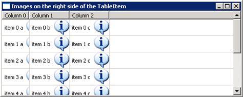 java 8 listener pattern table measure item listener table event 171 swt 171 java