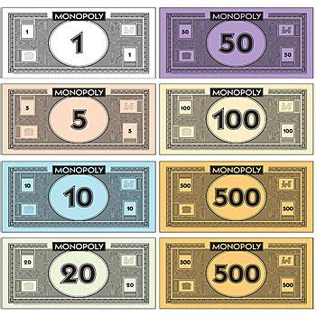 the gallery for gt monopoly money template