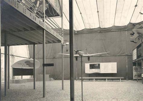 pavillon le corbusier pavillon des temps nouveaux париж франция 1936