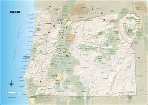 map oregon coast travel maps of oregon and the oregon coast moon