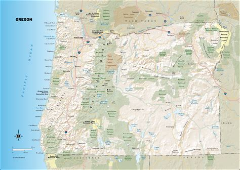 map of oregon roads travel maps of oregon moon travel guides