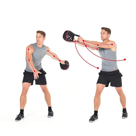 kettlebell side swing kettlebell exercise circle catch for strong side ab muscles
