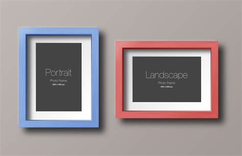 design photo mockups 55 amazing frame mockups templates psd designazure com
