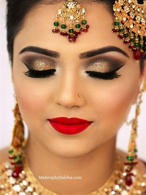 Bridal Red Eye Makeup Tutorial   Saubhaya Makeup
