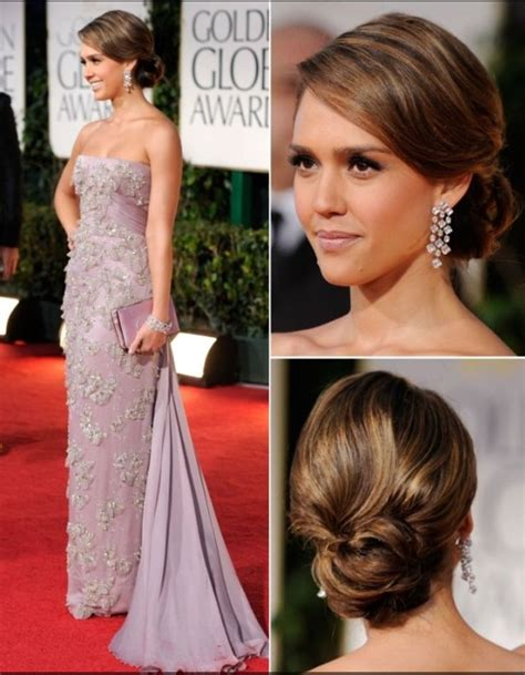 pictures jessica alba red carpet hairstyles through the jessica alba red carpet hair hair pinterest wedding