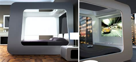 hican bed multimedia futuristic bed sleeping in luxury tech exclusive