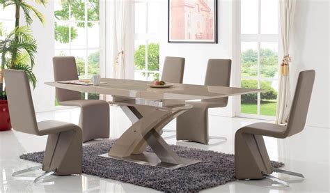 extendable wooden made in spain modern dining room extendable rectangular in wood dining room furniture