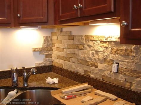 kitchen backsplash material options stacked backsplash photos