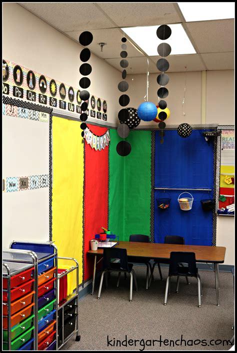 kindergarten classroom reveal organization