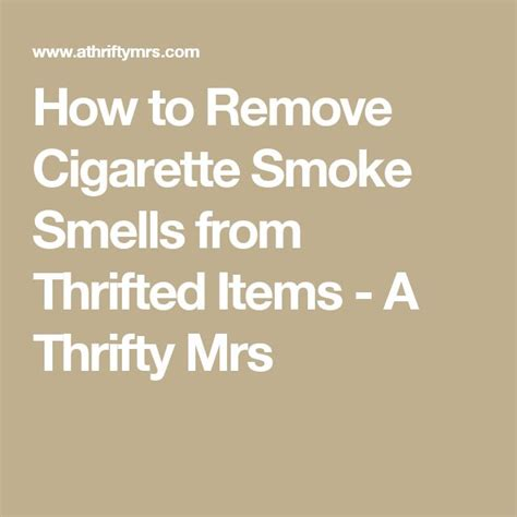 how to smoke in bathroom without smell how to remove cigarette smoke smells from thrifted items